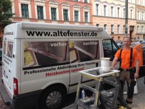 Neue und alte Fenster reparieren lassen vom fahrenden Tischler